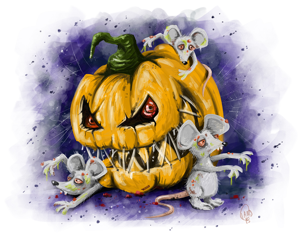 Pumpkin & The Zombie Mice